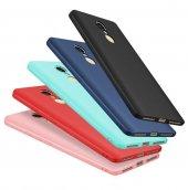Xiaomi Redmi Note 4 Mat Slim Fit Kılıf Süet Kadife Dokulu Rubbe