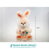 Oyuncak 40 Cm Orta Boy Peluş Tavşan