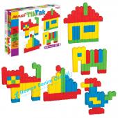 Fen Toys Tik Tak Lego Yap Boz 250 Parça Eğitici Yap Boz Oyunu