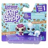 Littlest Pet Shop İkili Küçük Miniş Kokarca Ve Kirpi