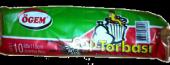 Jumbo Boy Çöp Torbası Çöp Poşeti 80*110 Cm 10 Pk 100 Adet