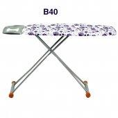 Evform Ütü Masası B40 Mor Çiçek Desenli Utu Masa
