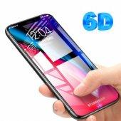 Baseus Apple İphone X Cam Kavisli Ekran Koruyucu 6d Tam Koruma