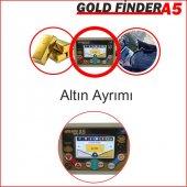 Gold Finder A5 Metal Dedektörü Alan Tarama Hediyeli