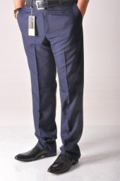 Blm5 Erkek Bol Kumaş Pantalon Lacivert