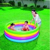 Bestway Çocuk Havuzu Neon 4 Renk Bölmeli 157*46cm Pb51117
