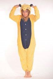 Kigurumi Kostüm Pijama Sarı Lacivert