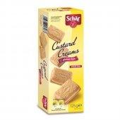 Schar Custard Cream Glutensiz Kremalı Bisküvi 125 G