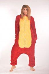 Kigurumi Kostüm Pijama Kırmızı Sarı