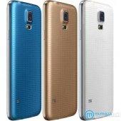 Samsung Galaxy S5 Uyumlu Arka Kapak Pil Kapağı Kapak