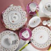 Kütahya Porselen Leonberg 33 Parça Kahvaltı Takımı Bantlı 9382