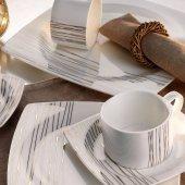 Kütahya Porselen Aliza 83 Parça Yemek Takımı 25102