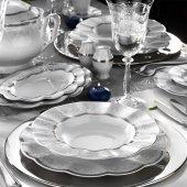 Kütahya Porselen Nil 83 Parça Yemek Takımı Bant Dekor 4320