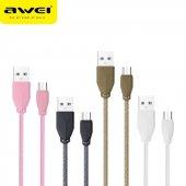 Awei Cl 982 Micro Usb Şarj Ve Data Kablosu 1 Metre