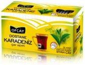 Ofçay Dostane Karadeniz Bergamot Aromalı Siyah Çay Fincan Bardak Poşet 25 Adet 2 Gram