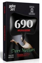 Yakın Eğitim Yayınları Kpss A Grubu 690 Muhasebe Ders Notları