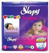 Sleepy Pepee 1no Beden Bebek Bezi Newborn (2 5) Kg 105 Adet