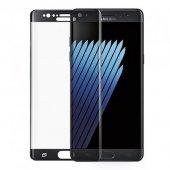 Samsung Galaxy Note 7 5d 3d Kavisli Tamperli Kırılmaz Cam Tam K
