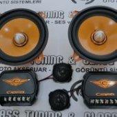Cadence Cs 5k 13 Cm 160 Watt Mükkemel Ses Oto Mit Bas Takımı