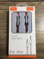 Tiger Aux Kablo 3.5 Mm Stereo Jaklı 100 Cm Bordo