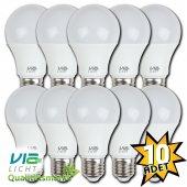 Vialicht 12w(75w) Led Ampul E27 1055lmn Beyaz Işık 10lu Paket