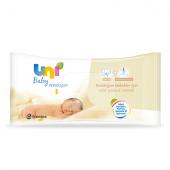 Uni Baby Yenidoğan Islak Pamuk Mendil 40 Lı
