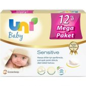 Uni Baby Sensitive Islak Havlu 12li Paket
