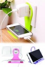 Mobil Şarj Priz Askısı Ve Telefon Tablet Standı