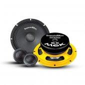 Soundmax Sx M6k 16cm Mıdrange Component Max Power 400w