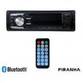 Piranha Lotus Y Type Bluetooth Usb Sd Oto Teyp