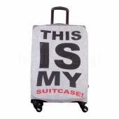 Valiz Kılıfı This Is My Temalı My Luggage Valiz Koruyucu