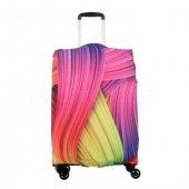 Valiz Kılıfı Gökkuşağı Temalı My Luggage