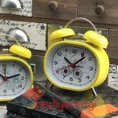 Retro Tasarımlı Metal Klasik Çalar Saat Masa Saati