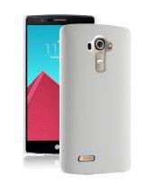 Microsonic Lg G4 Beat (G4s) Kılıf Premium Slim Beyaz