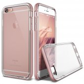 Verus İphone 6 Plus 6s Plus Crystal Bumper Kılıf Rose Gold