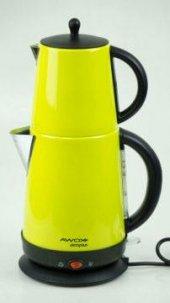 Awox Demplus Paslanmaz Çay Makinesi Açık Yeşil
