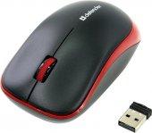 Defender Ir Laser Mouse Hashiru Ms 135 Siyah Kırmızı Kablosuz Mouse