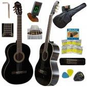 Klasik Gitar Hidalgo Mh965bk Gül Klavye Sap Ayarlı Full Set