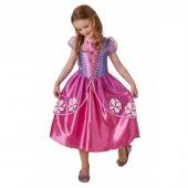 Disney Lisanslı Prenses Sofia Kız Çocuk Kostüm 5 6 Yaş Kostümleri