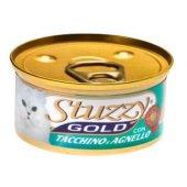 Stuzzy Gold Hindi Ve Kuzu Etli Ezme Kedi Konservesi 85 Gr