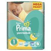 Prima Bebek Bezi Aktif Bebek Yenidoğan 80 Adet Ekonomik