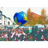 Togu Dünya Topu (Çap 1m.)