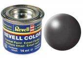 Revell Dark Grey Silk 14 Ml Maket Boyası