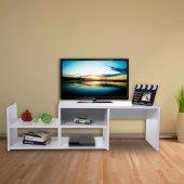 Remaks Tv Sehpası Beyaz