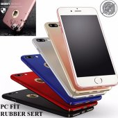 Iphone 5 5s Kılıf Pc Rubber Soft Sert Mat Kapak Fit Dizayn