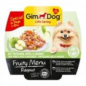 Gimdog Fruity Menu Köpek Konserve Hindi Elma Sebze 100gr