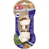 8in1 Delights Bones Biftekli Köpekler İçin Ağız Bakım Kemiği Small