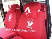 Renault Kırmızı Ön Ve Arka Servis Koltuk Kılıf + 2 Li Yastık+2 L