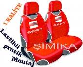 Seat Ön Atlet Kılıf Minder Airbag Uyumlu 2 Başlık Kılıfı 1.kalite