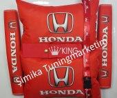 Honda Yastık Lastikli 2 Li Ve 2 Kemer Kılıfı+ayna İpi Ve Tampon